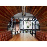 杨浦曼哈顿自助海鲜简约桌椅 餐厅实木桌子椅子定制