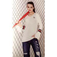 栖碟轩17夏装泰州尾货服装批发市场在哪里进货渠道品牌女装有什么牌子好多种面料多色供选T恤