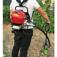 广州四冲程挖窝打塘机 打塘钻头秧苗烤烟种植机