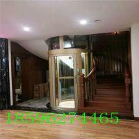 山东电梯玻璃透明别墅梯家庭用电梯曳引驱动-山东欣达xd-2