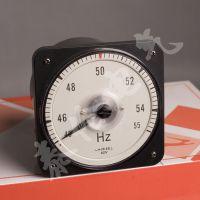 沈阳 船舶频率表直销 63L18-HZ赫兹表 45-55HZ频率表精度 0.5级