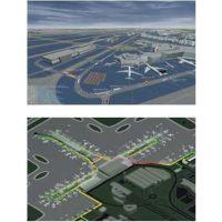机场地面运行仿真评估系统、机场容量评估系统、机场飞机流仿真系统