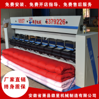 江苏加工棉被机的厂家在哪里生产直线绗缝机 多针底线绗缝