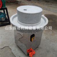 石磨香油生产线 多功能电动水磨 耐磨家用豆浆机 振德热销