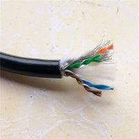 聚氨酯双绞电缆 拖链防水耐油电缆 自动化网线电缆