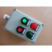 防爆现场操作箱厂家 FZC-A2B2D1两灯两钮一表操作柱型号