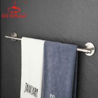 单杆浴巾架 纯304不锈钢 酒店浴室毛巾架毛巾杆 拉丝工艺卫浴挂件GX-LS5201