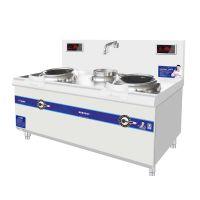 商用厨房炊事设备一站式采购基地山西厨具营行商用电磁炒灶
