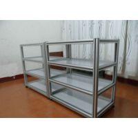 铝型材架子机架 铝框架 铝型材推车 防静电推车 铝型材货架 铝周转箱