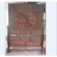 古典成都古典明清仿古家具定制厂 专业定做火锅桌 展物柜 花格门窗 雕花屏风 榆木