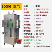 宇益厂家供应300KG室燃炉燃气蒸汽发生器效率高成本低天然液化多种燃料锅炉
