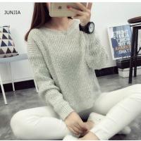 广东秋冬热销厚款毛衣便宜清货 韩版杂款库存女装打底衫厚毛衣 便宜女士毛衣