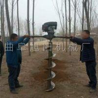 厂家直销大马力植树机农用电线杆打洞机汽油动力挖坑机