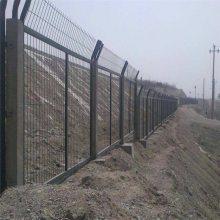 顺旺护栏网厂 市政隔离栏 桃型柱围栏报价
