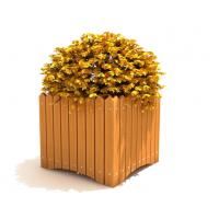 四川花箱、塑木花盆、合成木座椅花箱款式特点及报价—振兴