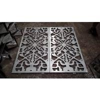 供应幕墙主体及配件艺茶馆经典大气铝板雕刻镂空花格屏风