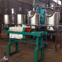食用油精炼设备 新型油脂炼油成套机组 志乾动物牛油精炼设备价格