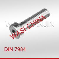WASI 薄型内六角螺栓DIN7984 A2-70 M10*30 现货