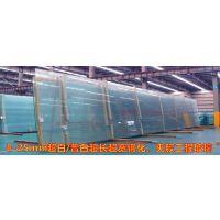 超长超宽平弯钢化玻璃超规格平弯钢化玻璃汽车展厅玻璃高层幕墙玻璃大板钢化玻璃厚板钢化玻璃
