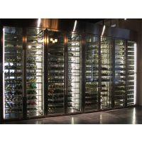 北京储存红酒柜定制厂家,时尚高端不锈钢恒温酒柜