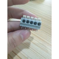 供应804接线端子(替代万可端子)白色按钮式5.0mm管脚