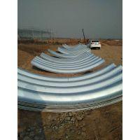 波纹涵管厂家中泰信 钢波纹管涵 法兰盘 钢板材质型号齐全