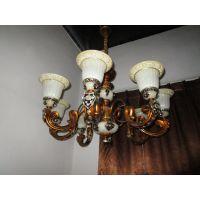 中元之光定制欧式复古吊灯别墅会所客厅吸顶灯销售