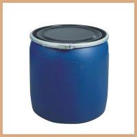 全新化工包装桶 150L半截桶 大胶桶 抱箍桶 HDPE 珠三角可送货(佛山)