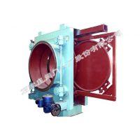 石家庄阀门一厂生产的环球牌加压机前敞开式电动插板阀 (CCF944X-1DN500-2800)