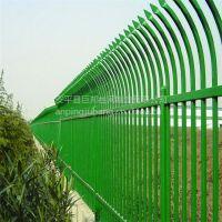小区锌钢栅栏 体育场围栏网 镀锌管材质 厂家直销