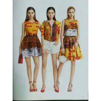 杭州一线品牌太平鸟17年新款夏装品牌折扣尾货分份批发