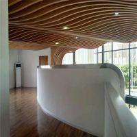 弧形铝单板天花 室内造型铝单板吊顶