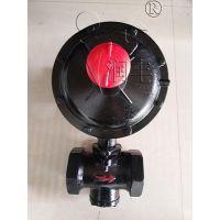凉山润丰螺纹燃气调压器RTZ天然气减压器燃气减压阀