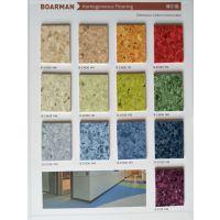Hot sale PVC无方向同透地板 博尔曼耐磨塑胶卷材地板 homogeneous floor