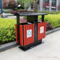 金华供应环卫垃圾桶,金属垃圾桶(H236)