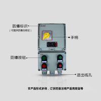 振安防爆BQC防爆控制箱按钮磁力启动器厂家订做