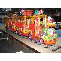 小火车开动啦嘉信游乐的轨道小火车称霸游乐场