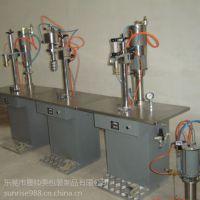 厂家直销SUN气雾剂灌装机 喷雾剂半自动灌装机 三台半自动气雾剂封口机,充气机,罐料机