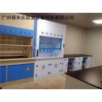 湖南PP通风柜生产厂家 长沙实验台 配风机及风管 禄米实验室设备