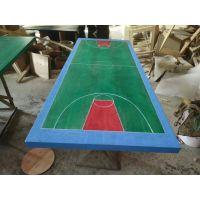 运动能量餐厅桌椅定制厂家 篮球场、足球场桌子