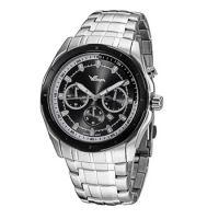 厂家现货供应新款正品多功能三眼石英男士手表运动手表可定制logo批发