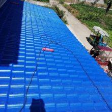 浙江湖州塑料防腐瓦 钢结构厂房屋面瓦 屋顶隔热防火彩钢瓦
