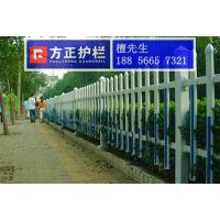 送立柱 草坪栏杆围墙栏杆花坛绿化围栏塑钢绿化护栏白色绿化栅栏