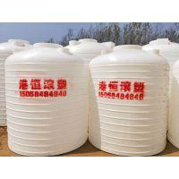 港恒厂家直销5吨塑料水塔水箱5T5立方储水罐食品级饮用水桶防晒桶