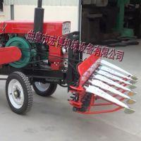 链条玉米秸秆割晒机 手扶牧草收割机