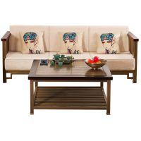 匠铜木沁香沙发纯铜家具铜木新中式纯铜实木组合沙发厂