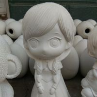石膏像卡通及石膏娃娃卡通批发石膏像彩绘白坯娃娃石膏娃娃上色
