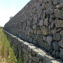 护坡护堤包塑石笼网 石笼护坡 格宾网挡墙
