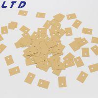 K10导热矽胶片厂家生产to220矽胶片 开关电源导热矽胶片