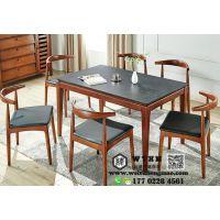 天津成套餐桌椅,实木餐桌餐椅,现代简约餐厅桌椅批发定制